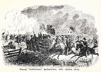 First Battle of Springfield - Image: First Battle of Springfield 1861