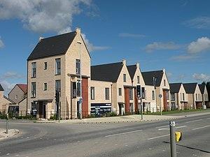 Northstowe - First houses built by Bloor Homes