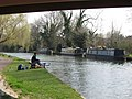 Fishing in the Grand Union Canal at Berkhamsted - geograph.org.uk - 1238778.jpg