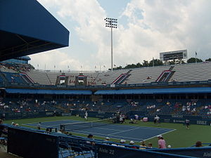 Washington Open (tennis) - Inside the William H.G. FitzGerald Tennis Center, which is home to the Citi Open.