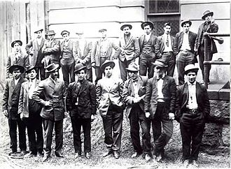 Whyos - Members of the Five Points Gang of New York City who were one of many criminal gangs who helped destroy the Whyos Gang