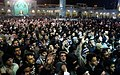 Flag Changing Ceremony from Fatima Masumeh Shrine, Qom on 1 Muharram 1433 AH 08.jpg