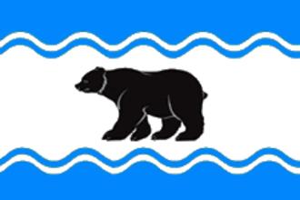 Ochyorsky District - Image: Flag of Ochyersky rayon (Perm krai)