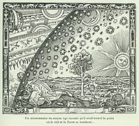 The Flammarion woodcut portrays the cosmos as ...