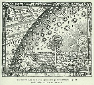 "Astral plane - ""The place where earth and heaven meet"", from Flammarion's Popular Meteorology (1888)"