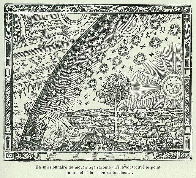 O sobie: Drzeworyt Flammariona