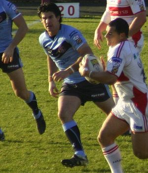 2009 St Helens RLFC season - Chris Flannery was man-of-the-match against Leeds.