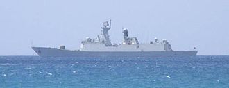 South Sea Fleet - A Jiangkai-Class Frigate in action in Nan Hai