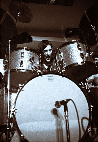 Mick Fleetwood - Fleetwood with Fleetwood Mac, 18 March 1970