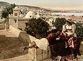 Flickr - …trialsanderrors - Moorish woman and child on the terrace, Algiers, Algeria, ca. 1899.jpg