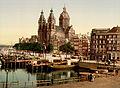 Flickr - …trialsanderrors - Sint Nicolaaskerk, Amsterdam, North Holland, the Netherlands, ca. 1895.jpg