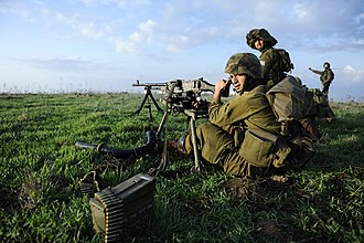 "Jewish Agency for Israel - Druze Israeli soldiers in the ""Herev"" Battalion, an elite IDF Unit in the Northern Command."