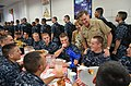 Flickr - Official U.S. Navy Imagery - VCNO with new Navy recruits..jpg