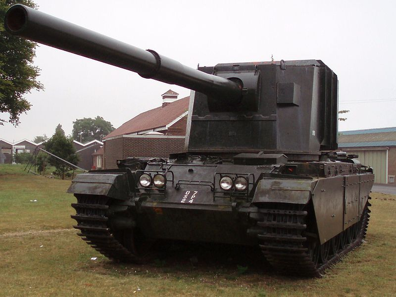 The FV4005 at Bovington museum