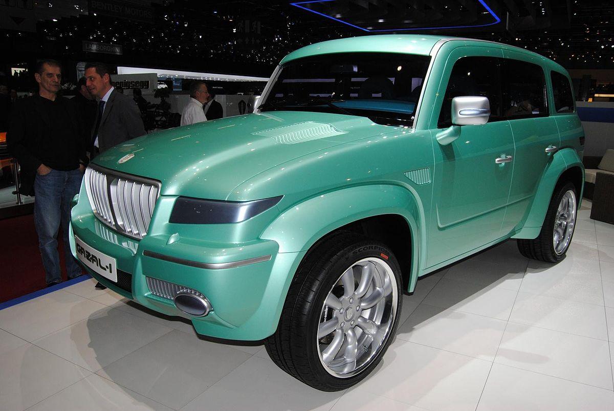 6 Wheel G Wagon >> KSU Gazal-1 - Wikipedia