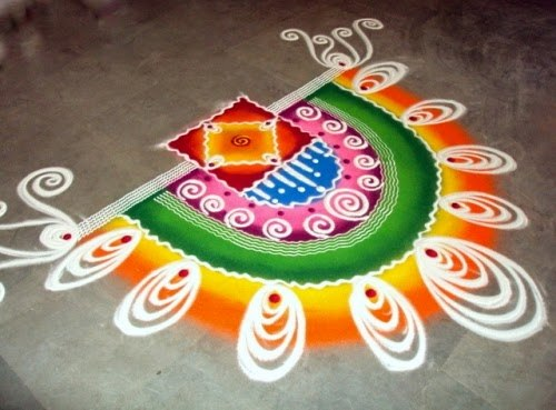 Floor Rangoli decoration on Diwali.jpg