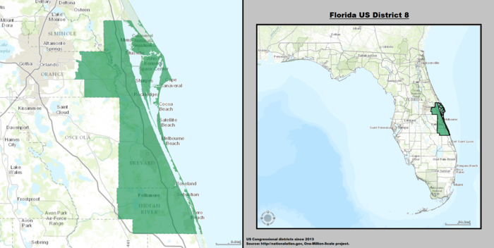 Map Of New York 8th Congressional District.Florida S 8th Congressional District Wikiwand