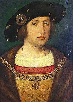 Floris van Egmont - Floris van Egmont as Knight of the Golden Fleece