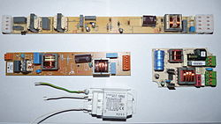 Fluorescent light bulb power supplies.JPG
