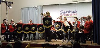 Foden's Band - Image: Fodens 12 piece brass band