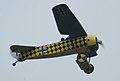 Fokker D.VIII Lt See Gotthard Sachsenberg Flyby two 04 ThruDirtyWindow Dawn Patrol NMUSAF 26Sept09 (14599290012).jpg