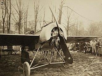 Fokker E.III - Fokker E.111 downed in France during WWI