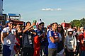 Football supporters of France at FIFA World Cup 2018 (Moscow, 26.06.2018).jpg