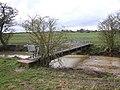Footpath bridge over the River Dene - geograph.org.uk - 1771632.jpg