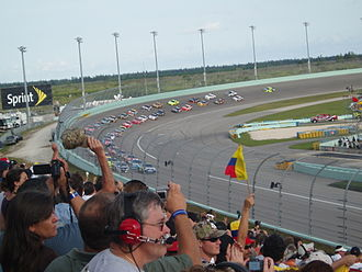 Ford EcoBoost 400 - The start of the 2009 race