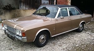Ford P7 - Ford 26M (P7b) with four doors