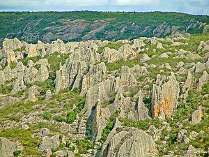 Catimbau National Park - Image: Formações rochosas no Vale do Catimbau