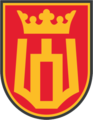 Former insignia of the Lithuanian Grand Duke Gediminas Staff Battalion.png