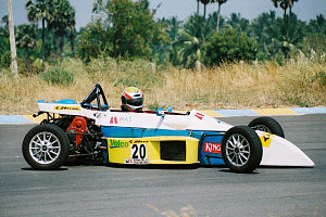Sundaram Karivardhan - A FISSME or Formula Maruti Single Seater racing Car