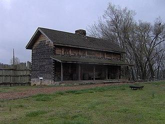 Fort Southwest Point - The main gatehouse