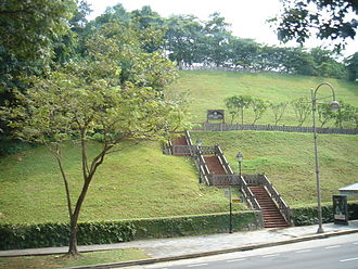 Fort Canning Hill - Fort Canning Park