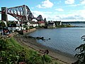 Forth Bridge from North Queensferry - geograph.org.uk - 1595979.jpg