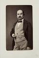 Fotografiporträtt på konstnären Édouard Boutibonne, 1800-tal - Hallwylska museet - 107660.tif