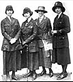 Four members of the American Women Overseas League, Mrs. Douglas Brookman, Mrs Sarah Young, Miss Marion Crocker, Mrs Eugene K. Sturgis, Who's who among the women of California.jpg