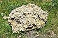 Fragment of the Paleolithic megalith of Barda Balka, Sulaymaniyah, Iraq. C. 100000-60000 BCE. The megalith was deliberately demolished.jpg