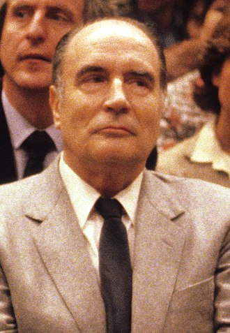 1981 French presidential election - Image: François Mitterrand avril 1981