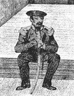 man in 19th-century military uniform