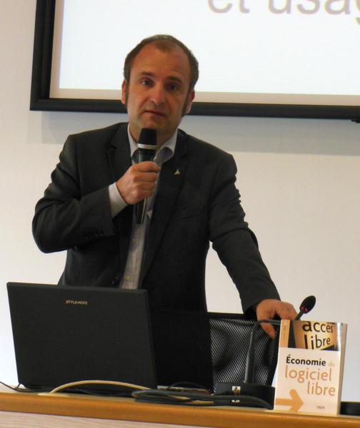 François Elie en 2012