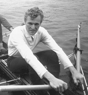 Frank Hansen (rower) - Hansen in 1971
