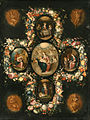 Frans Francken II & Workshop of Frans Francken II - The Virgin and Child with Scenes from the Life of Christ.jpg