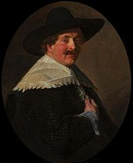 Portrait of a sitting man
