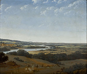 Frans Post - View of Pernambuco in 1649, which looks very much like the dunes of Kennemerland.