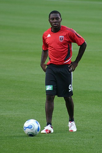 Freddy Adu - Adu playing for D.C. United