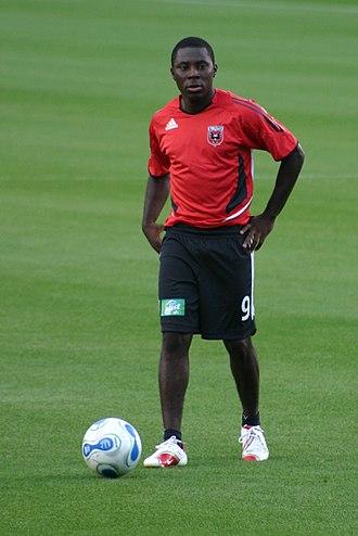 Freddy Adu - Adu playing for D.C. United