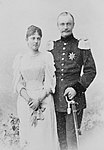 Frederick Augustus III of Saxony with his wife Louise.jpg