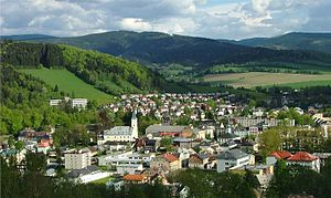 Jeseník - Image: Freiwaldau 3